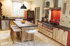 cuisine provencale avec ilot decoration cuisine avec ilot central pau galerie avec cuisine