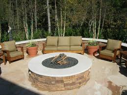 Fire Pit With Lava Rocks - fire pit inserts firepit insert with tumbled lava rock