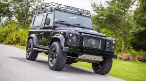 land rover defender 2010 land rover defender project blackout u2013 drive safe and fast