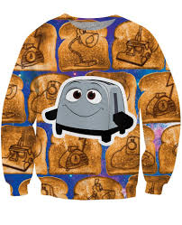 The Brave Toaster Brave Little Toaster Crewneck Sweatshirt