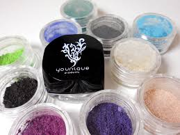 youniquemoodstruck minerals pigment shimmmer eyeshadow popular color chart