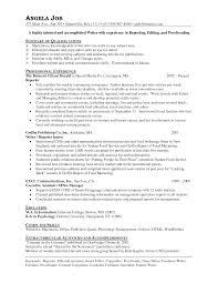 Proofreader Resume 20 Effective Reporter Resume Examples To Help You Create A Superb