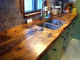 cuisine plan de travail bois massif plan de travail cuisine en bois plan travail en la cuisine vernis