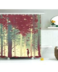 gorgeous shower curtains at kohls autumn shower curtain fall forest leaves print for bathroom fall leaves gorgeous shower curtains at kohls