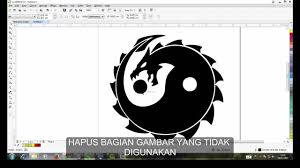 tutorial membuat logo coreldraw x5 tutorial corel draw buat logo 2018 logo designs
