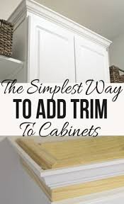 kitchen cabinet molding ideas best 25 cabinet molding ideas on kitchen cabinet in
