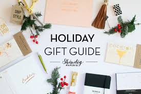 gift guide shindig paperie