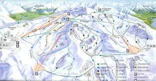 Squaw Trail Map Cardrona Ski Trail Maps Pinterest