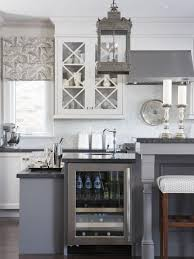kitchen desaign gray kitchen with honed granite countertops and