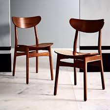 classic cafe dining chair walnut west elm au
