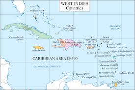 Caribbean Ocean Map by Lc G Schedule Map 14 Caribbean Countries Waml Information Bulletin