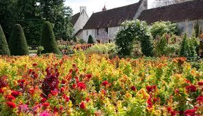 the flower garden chenonceau
