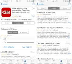 cnn app for android cnn s app on android apple hit with flood of one reviews