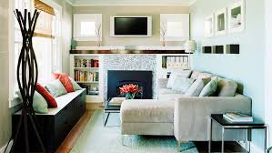 Inspiring Small Homes Sunset - Bungalow living room design