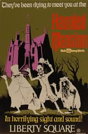 the haunted mansion tin attraction poster photo by chris barry