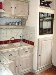 cuisine blanc cérusé ceruser une table en bois cheap design cuisine bois ceruse blanc