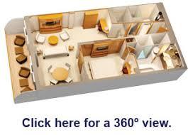 Disney Fantasy Floor Plan Disney Fantasy Staterooms U2013 Conceierge 1 Bedroom Suite