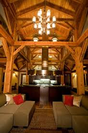 timber frame great room lighting 24 best woodhouse timber frame pennsylvania usa images on