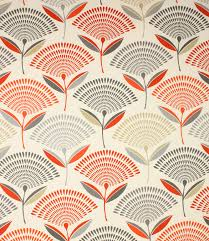 Geometric Curtain Fabric Uk Orange U0026 Terracotta Fabric Just Fabrics