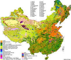 Map Of Beijing China by Land Use Land Cover Details