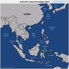 East China Sea Map by 5 Maps That Explain China U0027s Strategy