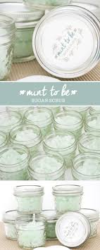mint to be bridal shower diy mint to be sugar scrub