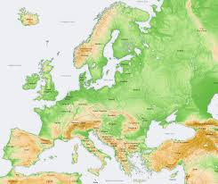 Map Europe Countries by Europe Physical Map Countries European U2013 Romania Dacia
