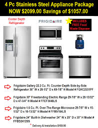 Stainless Steel Kitchen Appliance Package Deals - 4 pc ss appliance package sale mesa az