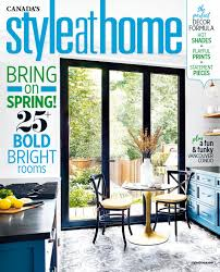 Home Design Magazines Canada by Style At Home Canada April 2017 By Mimimi980 Issuu
