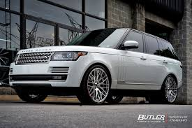 wheels range rover land rover range rover with 24in savini sv54d wheels exclusively