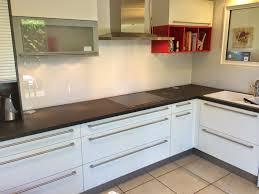 cr ence en miroir pour cuisine credence blanche fabulous carrelage metro blanc avec credence