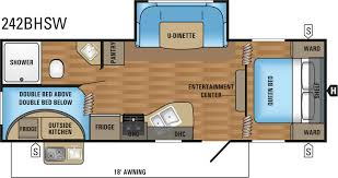 Jayco Jay Flight Floor Plans by Jayco Jay Flight Slx 242bhsw 2017 Roulottes Desjardins