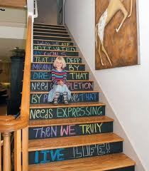 25 Brilliant Ways to Decorate Your Stairs