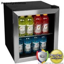coca cola fridge glass door red bull mini fridge ebay