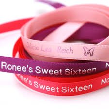 personalized ribbons 3 8 continuous sweet sixteen personalized ribbon sweet sixteen