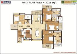 Spa Floor Plans by Floor Plan Acme Spaces Pvt Ltd Omaxe The Forest Spa At