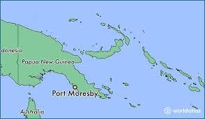 map port where is port moresby papua new guinea port moresby national