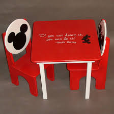 mickey mouse kids table omg i have to get it mickey and minnie mouse table and chair set