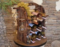 Wood Wine Cabinet Wine Cabinet Etsy