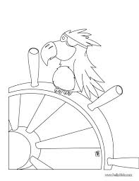 waiting parrot coloring page flying birds pages baby printable