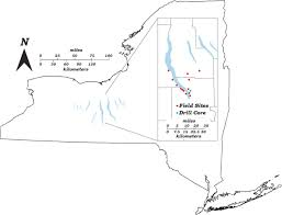 Canandaigua New York Map by Sedimentary Facies And Depositional Environment Of The Middle