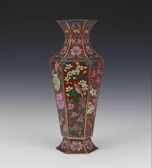 Antique Cloisonne Vases Hexagonal Cloisonne Vase 02 19 15 Sold 195 5
