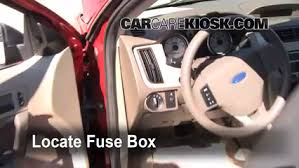 2007 ford mustang fuse box location interior fuse box location 2008 2011 ford focus 2009 ford focus