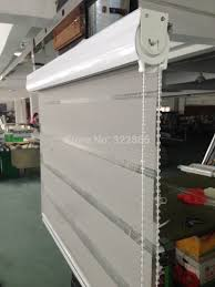free shipping popular zebra blinds double layer roller blinds for