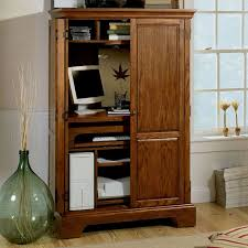 Computer Desk With Doors Excellent Computer Desk Armoire To Home Decor Furniture
