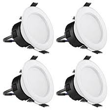 3 inch led recessed lighting le pack of 4 units 4w 3 inch led recessed lighting 30w halogen