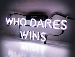Home Decor Direct Sales Who Dares Wins U0027 Cool Neon Signs Room Decor For Bedroom Girls Teens