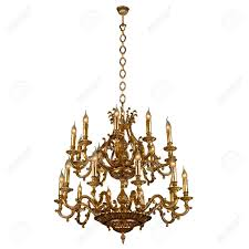 Free Chandelier Clip Art Vintage Chandelier Isolated On White Stock Photo Picture And