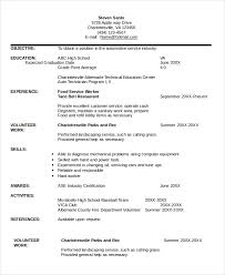 Service Technician Resume Sample Technician Resume Template 5 Free Word Pdf Documents Download