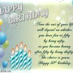 50th birthday card messages 50th birthday wishes quotes and